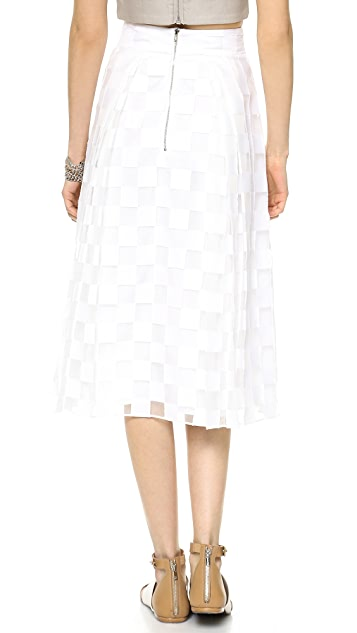 Milly Pocket Midi Full Skirt