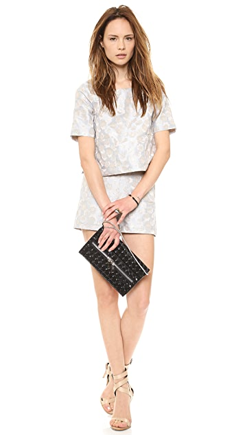 Milly Bowery Hologram Clutch