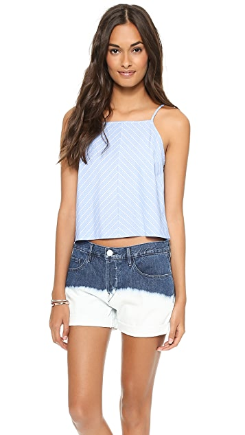 Milly Stripe Crop Top