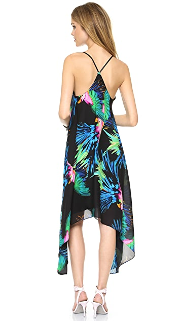 Milly Paradise Printed Strappy Dress