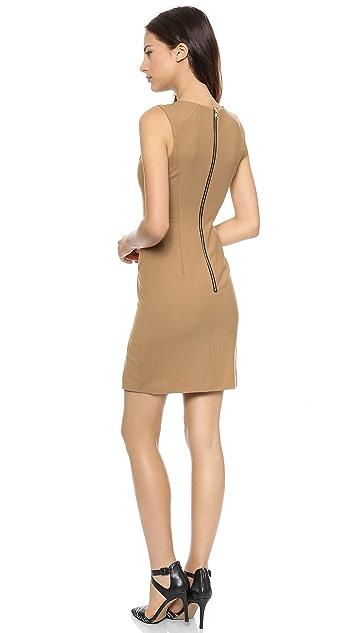 Milly Slit Sheath Dress