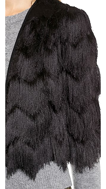 Milly Fringe Bolero Jacket