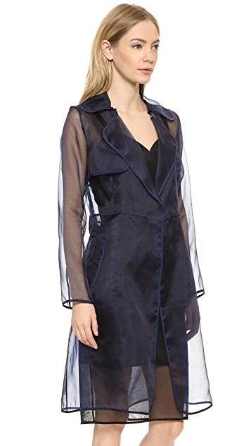 Milly Organza Trench