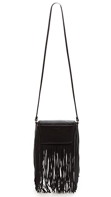 Milly Isabella Fringe Cross Body Bag