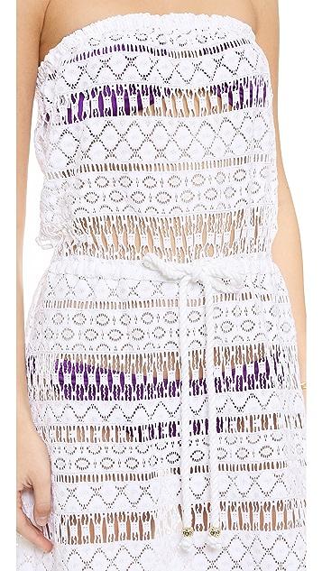 Milly Pahala Crochet Maxi Dress