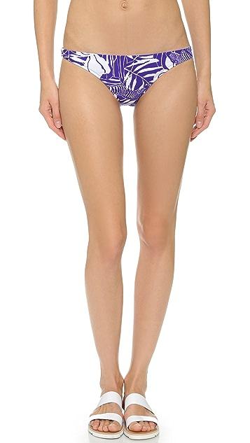 Milly Zebra St. Lucia Bikini Bottoms