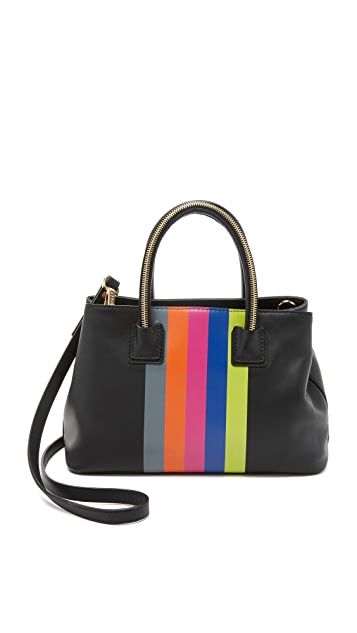 Milly Logan Stripe Small Tote