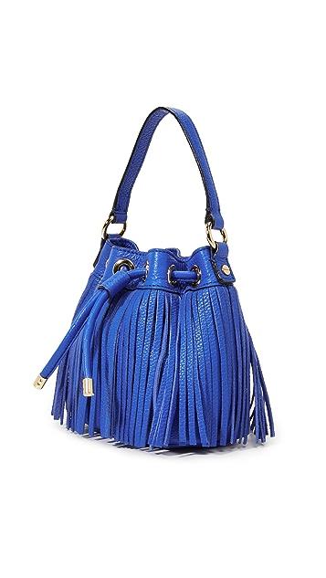 Milly Essex Fringe Mini Bucket Bag