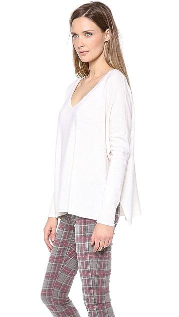 Minnie Rose Cashmere Pow Wow Sweater