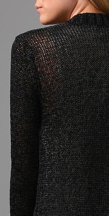 MINKPINK Chain Mail Draped Cardigan