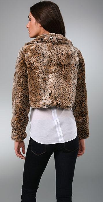MINKPINK Faux Fur Jacket