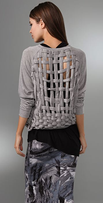 MINKPINK Basket Case Sweatshirt