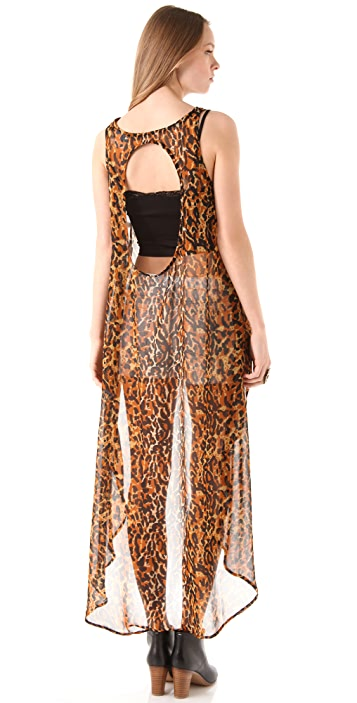 MINKPINK Eye Of The Tiger Top