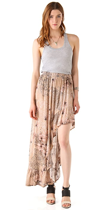 MINKPINK Hedonist Hi Low Skirt