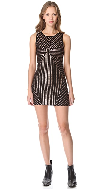 MINKPINK Vanishing Point Dress