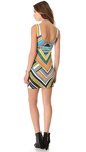 MINKPINK Carpet Ride Mini Dress