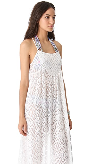 MINKPINK Gracie Maxi Coverup Dress