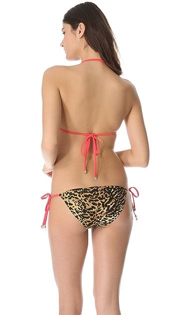 MINKPINK Zoe Triangle Bikini Top