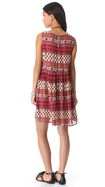 MINKPINK Maya Mini Cover Up Dress