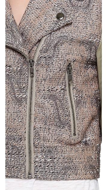 MINKPINK Magic Carpet Biker Jacket