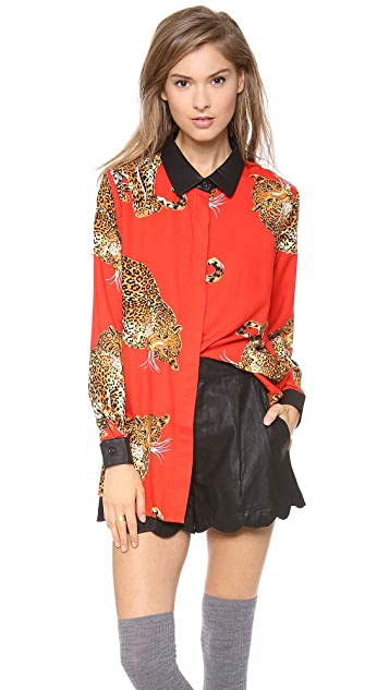 MINKPINK King of the Jungle Shirt