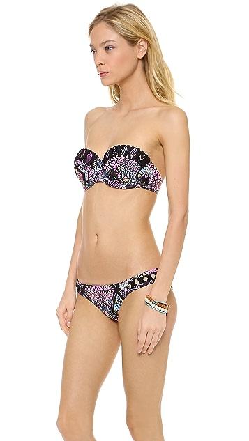 MINKPINK Scribble Bra Bikini Top