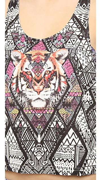 MINKPINK Tiger Tribe Top