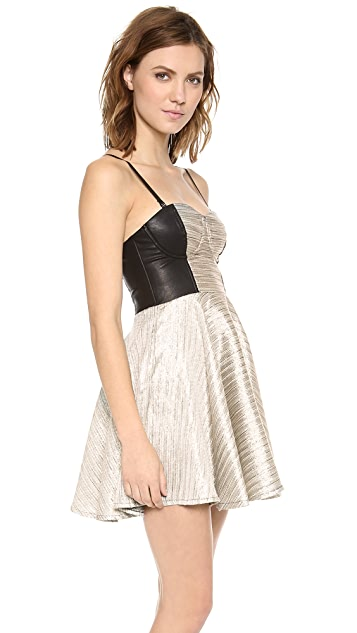 MINKPINK Silver Fox Dress
