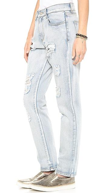MINKPINK Instinct Blues Boyfriend Jeans
