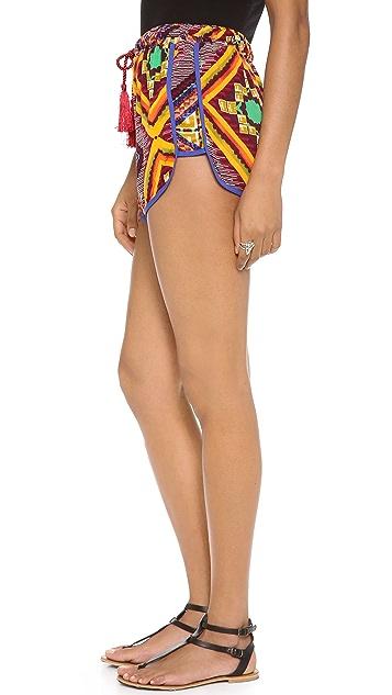 MINKPINK Moroccan Tile Shorts