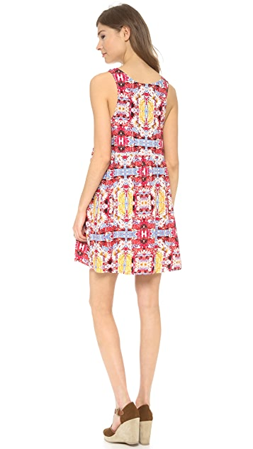 MINKPINK Combi Garden Dress