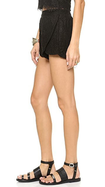 MINKPINK The Days You Feel Alive Shorts