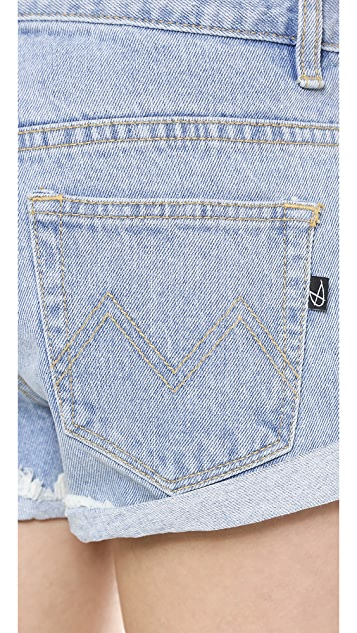 MINKPINK Groupie Blue Shorts