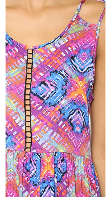 MINKPINK Rainbow Wave Dress