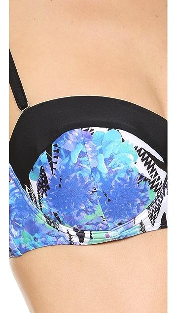 MINKPINK Garden Breeze Bikini Top