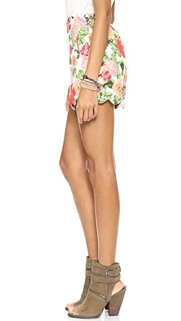 MINKPINK Wild Roses Shorts