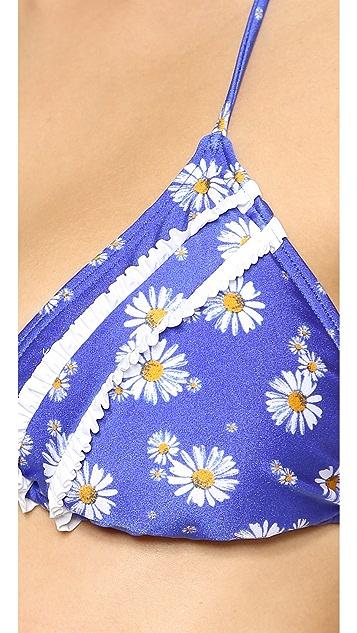 MINKPINK Hippie Daisy Bikini Top