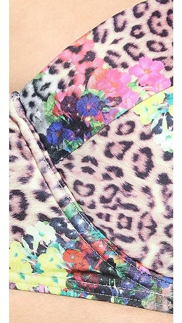 MINKPINK Acid Animal Bikini Top