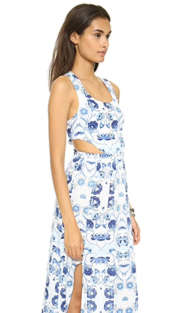 MINKPINK Ocean's Edge Maxi Dress