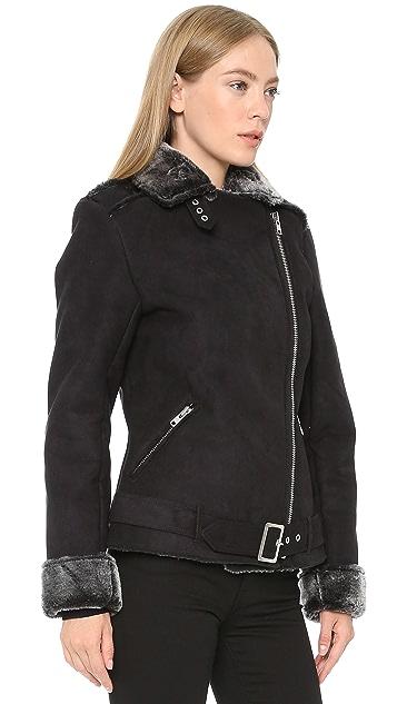MINKPINK Under Control Sherpa Jacket