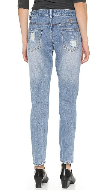 MINKPINK Street Riot Distressed Jeans