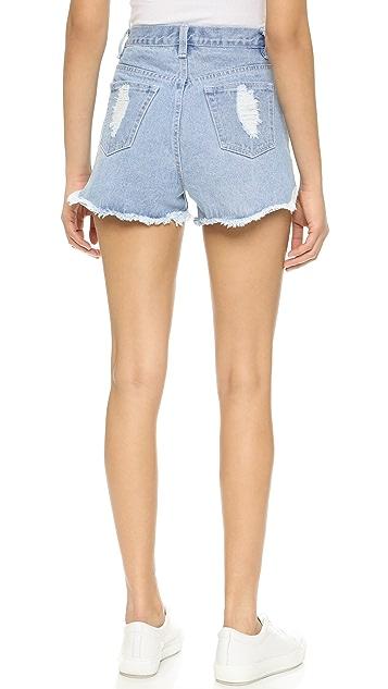 MINKPINK Slasher Shorts