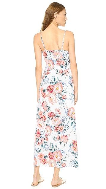 MINKPINK Little Blooms Maxi Wrap Dress