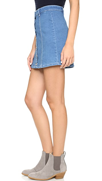 MINKPINK All I Want Button Up Skirt