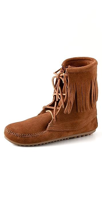 Minnetonka Tramper Flat Booties