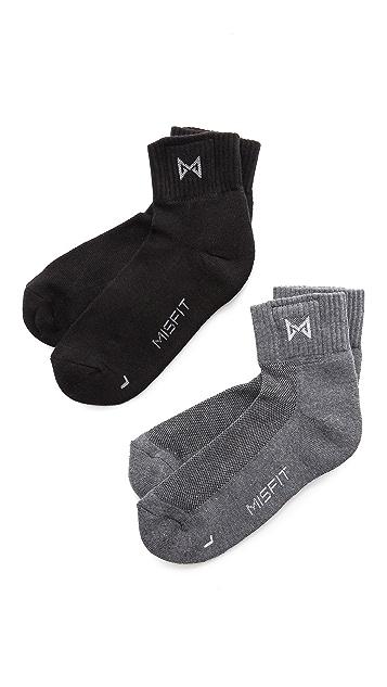 Misfit 2-Pack Socks