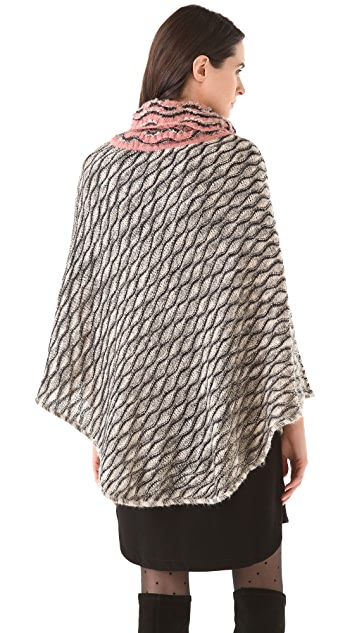 Missoni Wave Poncho