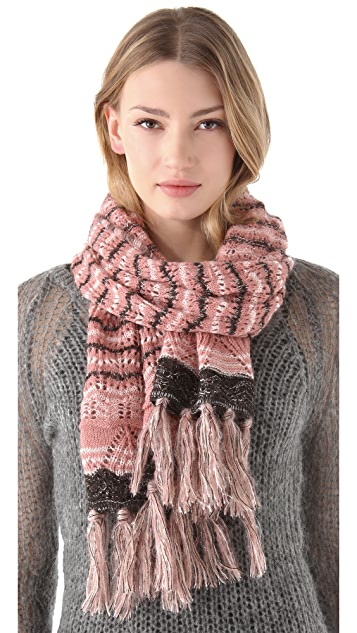 Missoni Shimmer Open Knit Scarf