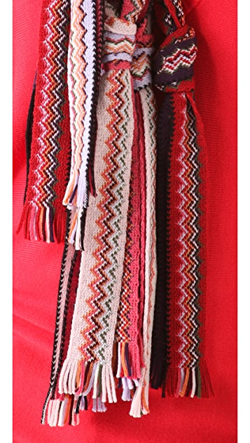 Missoni Knotted Scarf