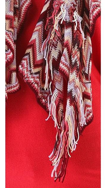 Missoni Wool Ruffle Scarf